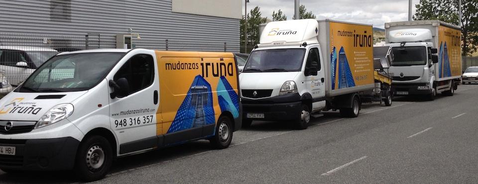 Todo tipo de transporte para mudanzas en Pamplona